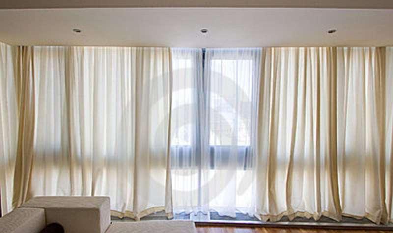 Cortinas tecido arquitetura decaracao quarto casa - Tipos de cortinas para salon ...